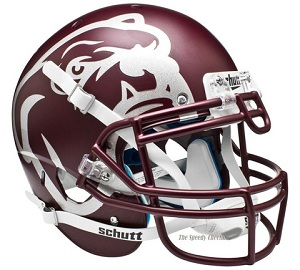 Mississippi State Maroon Bulldog XP Football Helmet