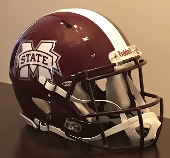 Mississippi State Authentic Football Helmet