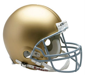Authentic Notre Dame Football Helmet by Riddell