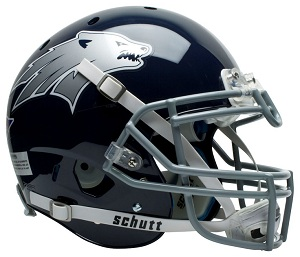 University of Nevada Authentic Football Helmet