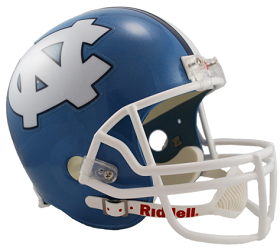 North Carolina Tar Heels Full Size Replica Football Helmet by Riddell