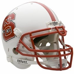 North Carolina State Wolfpack Authentic Football Helmet by Schutt