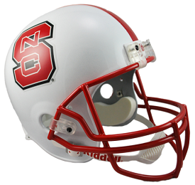 North Carolina State Wolfpack Replica Football Helmet by Riddell