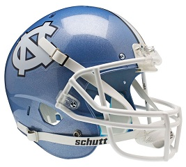 North Carolina Replica XP Football Helmet by Schutt