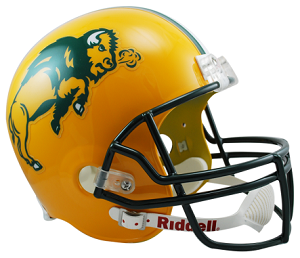 North Dakota State Full Size Replica Football Helmet by Riddell