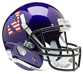 Replica Northwestern Flag XP Helmet