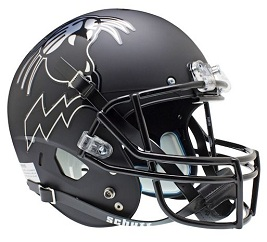 Replica Northwestern Matte Black XP Helmet