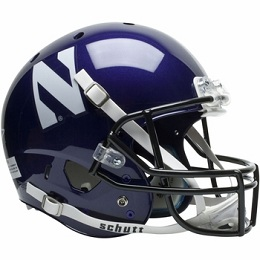 Replica Northwestern XP Helmet