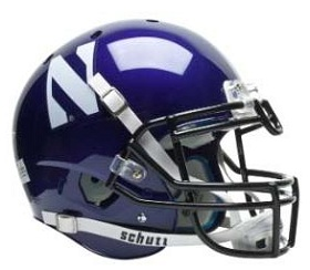 Authentic Northwestern XP Helmet