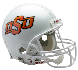 Oklahoma State Cowboys Authentic Football Helmet Riddell