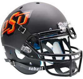 Authentic Oklahoma State Black XP Helmet