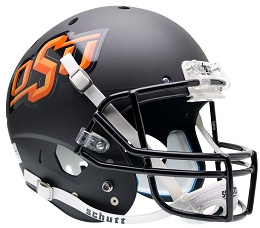 Oklahoma State Black XP Helmet by Schutt