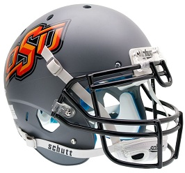 Authentic Oklahoma State Gray XP Helmet