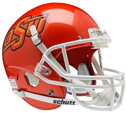 Oklahoma State Orange XP Helmet by Schutt