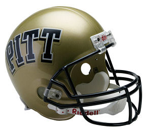 University of Pittsburgh Panthers Full Size Replica Football Helmet by Riddell