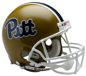 University of Pittsburgh Panthers Authentic Football Helmet