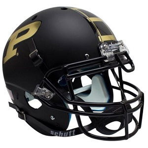 Purdue Boilermakers Black XP Helmet