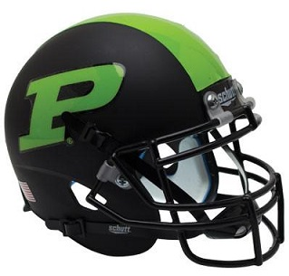 Purdue Boilermakers Green Stripe XP Helmet