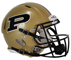 Purdue Authentic Revolution Speed Football Helmet