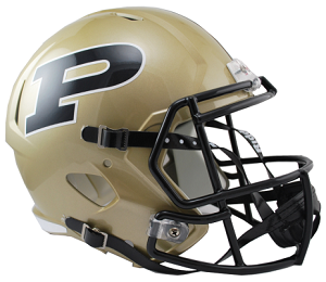 Purdue Replica Speed Helmet