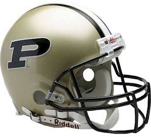 Replica Purdue Football Helmet by Riddell