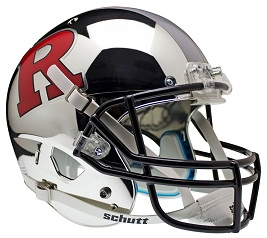 Replica Rutgers Chrome XP Helmet by Schutt