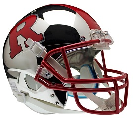 Replica Rutgers Chrome Scarlet XP Helmet by Schutt