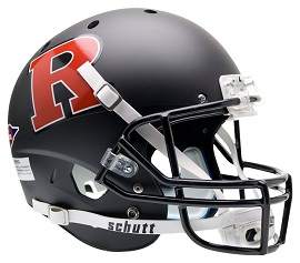 Replica Rutgers Matte Black XP Helmet by Schutt
