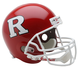 Full Size Replica Rutgers Football Helmet by Riddell