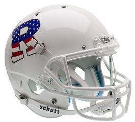 Replica Rutgers Flag White XP Helmet by Schutt