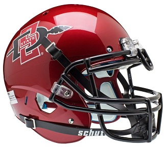 San Diego State Aztecs Authentic XP Football Helmet by Schutt