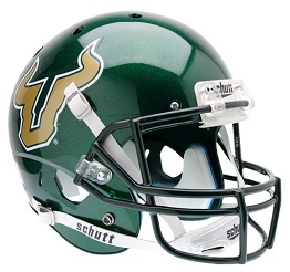 Replica University of South Florida Green XP Helmet