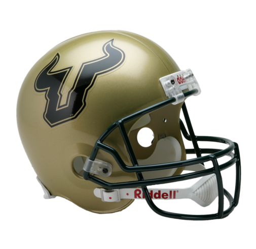 University of South Florida Bulls Full Size Replica Football Helmet by Riddell