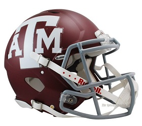 Texas A&M Aggies Authentic Speed Football Helmet