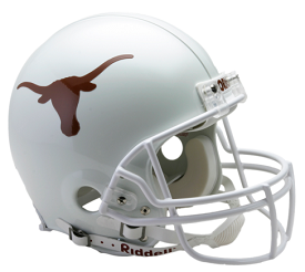 University of Texas Authentic Football Helmet by Riddell