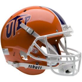 University of Texas El Paso XP Football Helmet