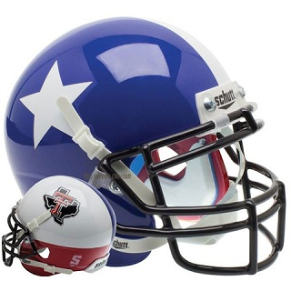 Texas Tech Star and State Replica XP Helmet
