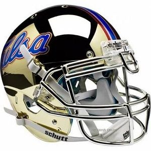 University of Tulsa Golden Hurricane Chrome XP Football Helmet