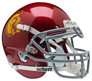 USC Authentic XP Football Helmet by Schutt