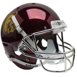 USC Trojans Replica Red Chrome XP Helmet