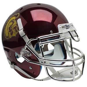 Authentic USC Trojans Chrome XP Helmet