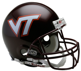Virginia Tech Authentic Football Helmet by Riddell