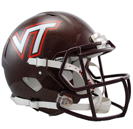 Authentic Virginia Tech Hokies Revo Speed Football Helmet