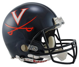 University of Virginia Authentic Football Helmet by Riddell