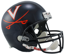 University of Virginia Replica Football Helmet by Riddell