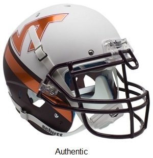 Authentic Virginia Tech 2015 Alt. XP Helmet