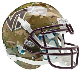 Authentic Virginia Tech Camo XP Helmet