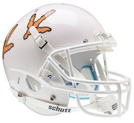 Replica Virginia Tech Orange XP Helmet