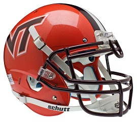 Authentic Virginia Tech Orange XP Helmet