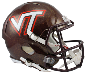Virginia Tech Replica Speed Helmet